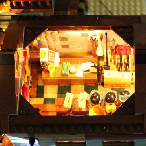 USB LED Lighting Kit Only for 21310 for Fisherman Cabin Fishing Store Building Blocks Toy Bricks 2