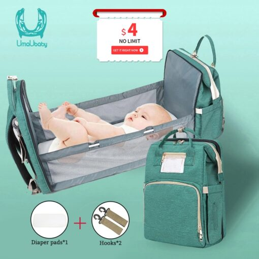Umaubaby Pre design Baby Diaper Bag Waterproof Maternity Bag For Stroller Nappy Bag Large Capacity Multifunction