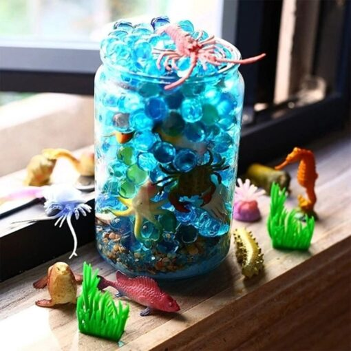 Underwater Deep Sea Creatures Tropical fish Shark Animal Action Figures Sea Creatures Educational Toys for Kids 4