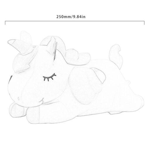 Unicorn doll Stuffed toy Beast figurine Down cotton Children s birthday gifts Claw machine Scissors machine 5