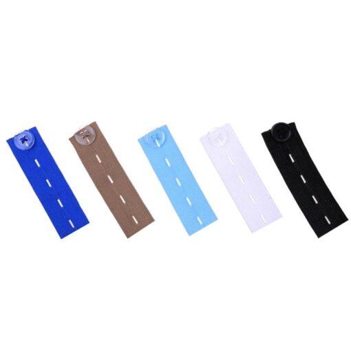 Unisex Jeans Trousers Waist Expander Waistband Extender Button Elastic Adjustment Waist Button Belt Extension Buckle 1