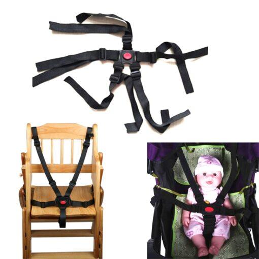 Universal Baby 5 Point Harness Safe Belt Seat Belts For Stroller High Chair Pram Buggy Children 1