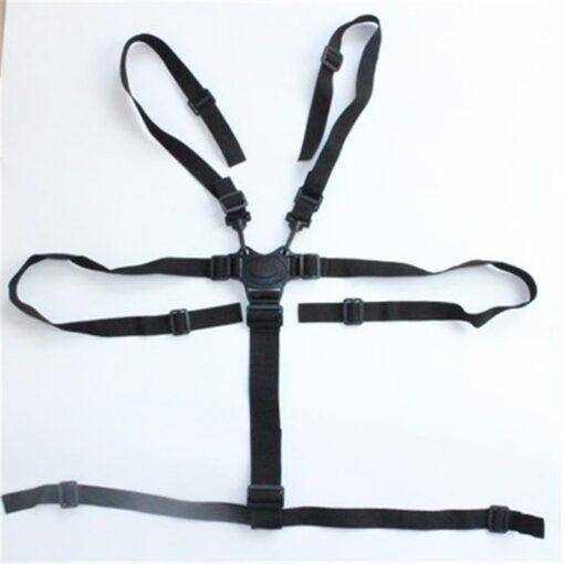 Universal Baby 5 Point Harness Safe Belt Seat Belts For Stroller High Chair Pram Buggy Children 2