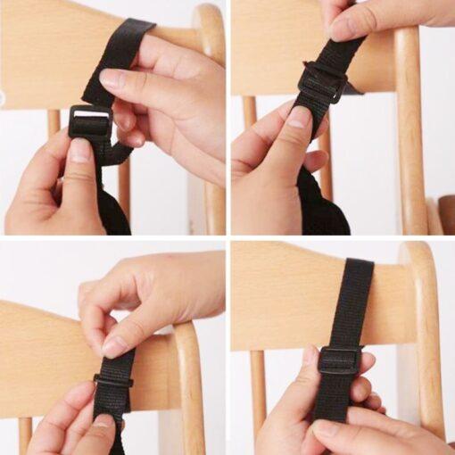 Universal Baby 5 Point Harness Safe Belt Seat Belts For Stroller High Chair Pram Buggy Children 4