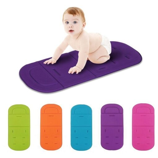 Universal Baby Kids Soft Stroller Pram Pushchair Car Seat Liner Pad Breathable Cushion Mat Stroller Accessories 2