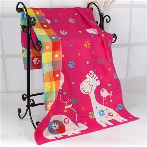 Variety Pattern Cotton Muslin Baby Blanket Newborn Infant Swaddle Bath Towel Soft Sleep Quilt 3 Layers 2