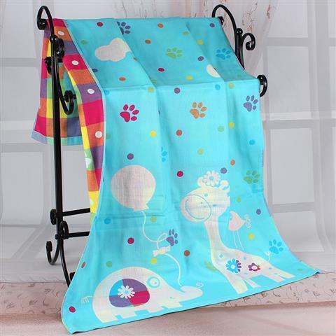 Variety Pattern Cotton Muslin Baby Blanket Newborn Infant Swaddle Bath Towel Soft Sleep Quilt 3 Layers 4