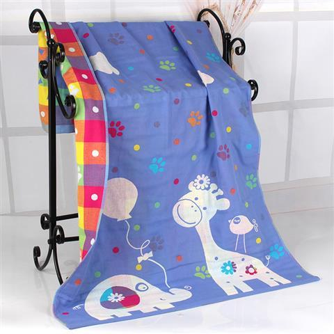 Variety Pattern Cotton Muslin Baby Blanket Newborn Infant Swaddle Bath Towel Soft Sleep Quilt 3 Layers