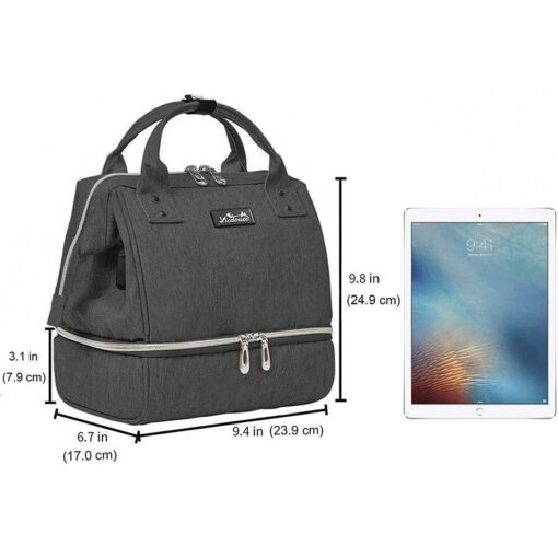Viedouce USB thermal kid men s insulated office school bag and lunch bag picnic diaper cooler 5