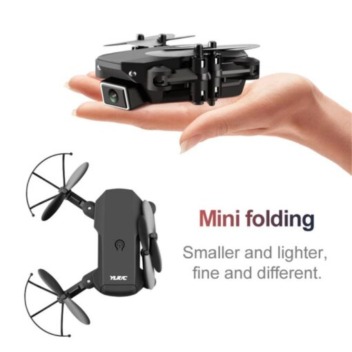 WIFI FPV Drone 4K With Camera Wide Angle HD Camera 2 4GHz RC Drones Altitude Hold 2