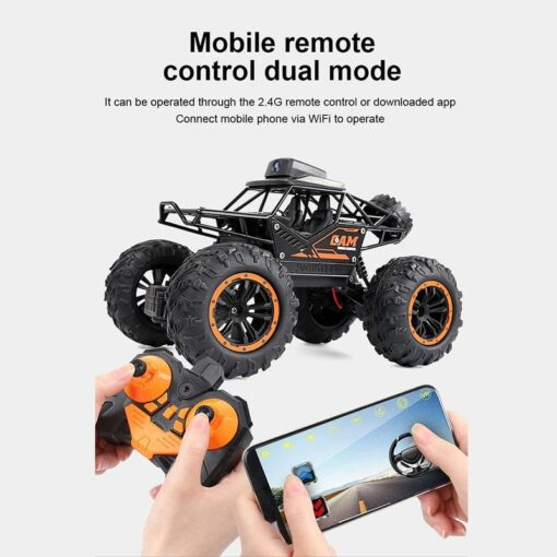WIFI FPV Off road Remote Control Car With 720P Camera RC Car Toys High Speed Remote 1