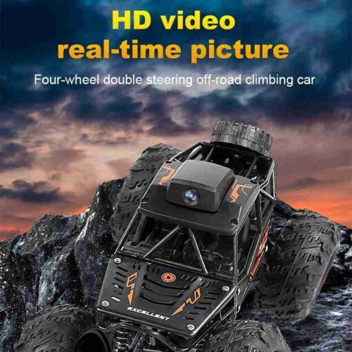 WIFI FPV Off road Remote Control Car With 720P Camera RC Car Toys High Speed Remote 2
