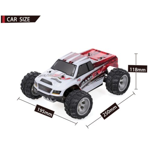 WLtoys RC Car A979 B 70KM H High Speed Racing Car 1 18 2 4G 4WD 2