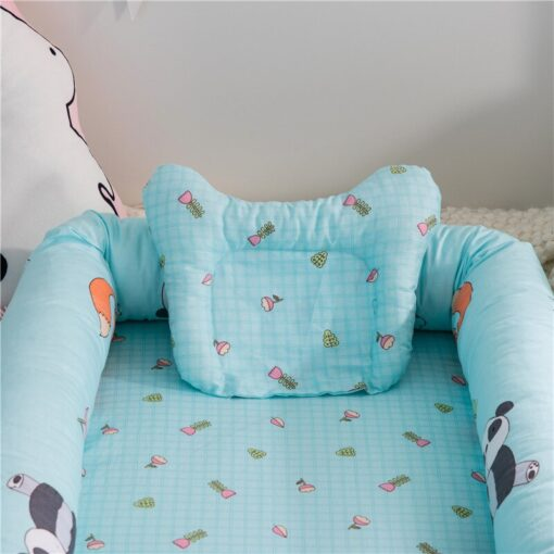 Washable Bed For Baby Care Portable Baby Crib Quilt Infant Toddler Cradle Cot For Newborn Nursery 2