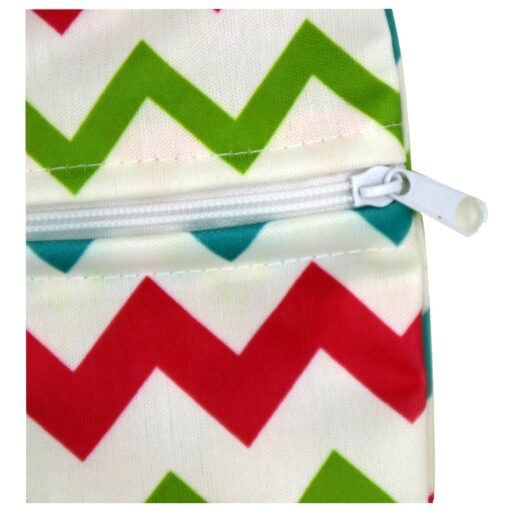 Washable Nursing Pads Wet Bags Nappy Bags Single Zippers Sanitary Pads Waterproof Wet Dry Wetbag Bags 4