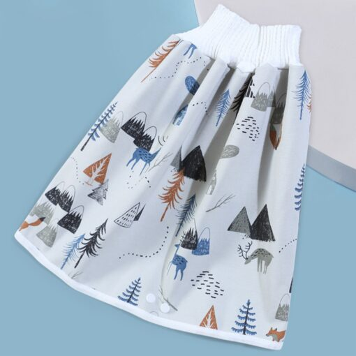 Waterproof Cloth Kids Cartoon Nappy Diaper Urine Skirts Cotton Training Pants For Infant Baby Boy Girl 1