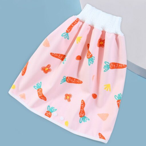 Waterproof Cloth Kids Cartoon Nappy Diaper Urine Skirts Cotton Training Pants For Infant Baby Boy Girl 2