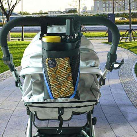 Waterproof Front Storage Bag Kids Stroller Basket Mobile Phone Water Cup Storage Bags for Pram Bags 1