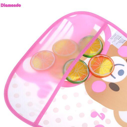 Waterproof Newborn Baby Bibs Burp Cloth Infants Saliva Towel Kids Feeding Lunch Bandana Apron Cartoon Baby 4