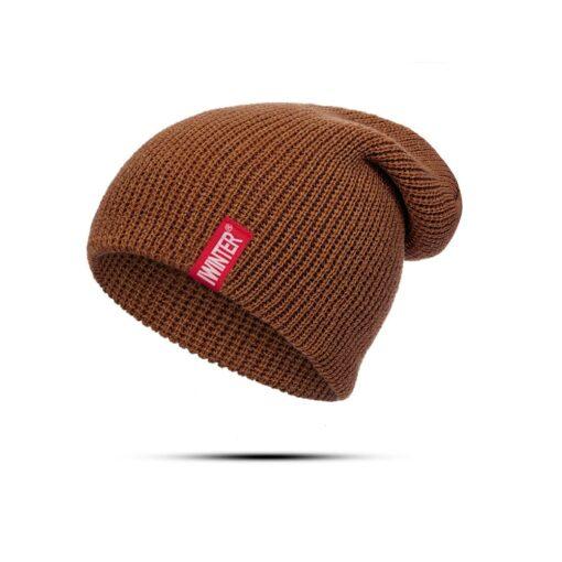 Winter Baby Hat For Boys And Girls Kids Cotton Knitted Skullies Beanies Hat Children Winter Autumn 1