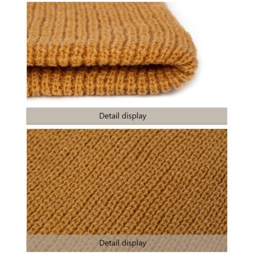 Winter Baby Hat For Boys And Girls Kids Cotton Knitted Skullies Beanies Hat Children Winter Autumn 5