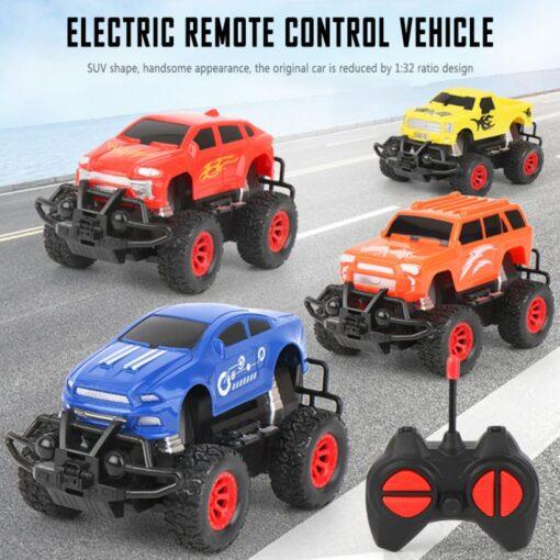 Wireless Remote Control Car Four channel 1 32 Mini Electric Wireless Remote Control Car Color Random