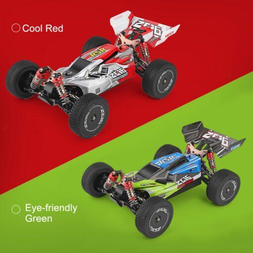 Wltoys XKS 144001 1 14 RC Car 60Km h High Speed RC Racing Car 2 4GHz 5