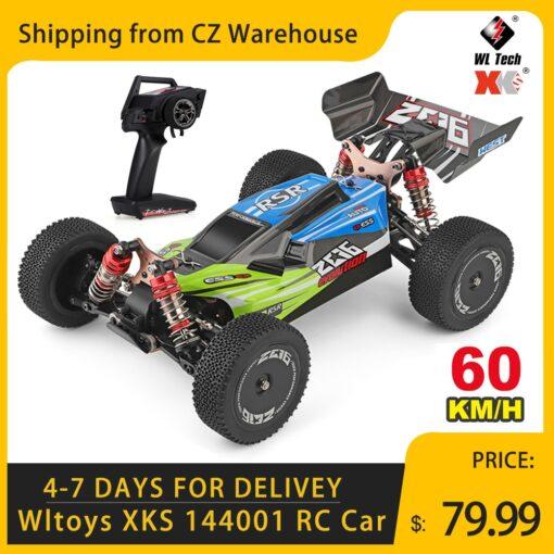 Wltoys XKS 144001 1 14 RC Car 60Km h High Speed RC Racing Car 2 4GHz