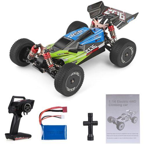 Wltoys XKS 144001 RC Car 60km h High Speed 1 14 2 4GHz RC Buggy 4WD 11