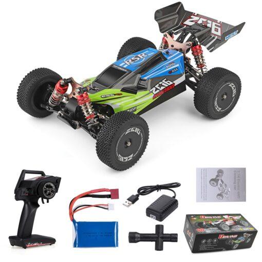 Wltoys XKS 144001 RC Car 60km h High Speed 1 14 2 4GHz RC Buggy 4WD 5