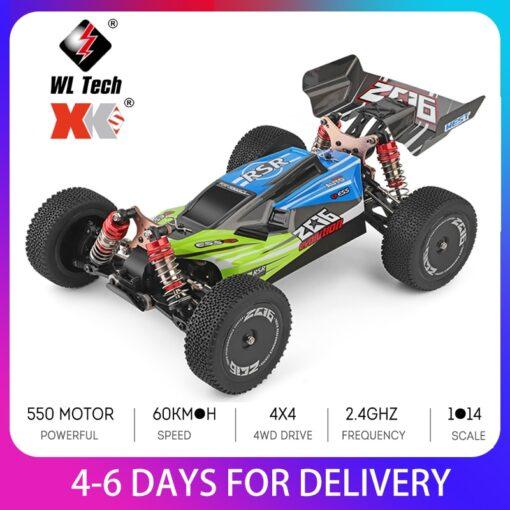 Wltoys XKS 144001 RC Car 60km h High Speed 1 14 2 4GHz RC Buggy 4WD