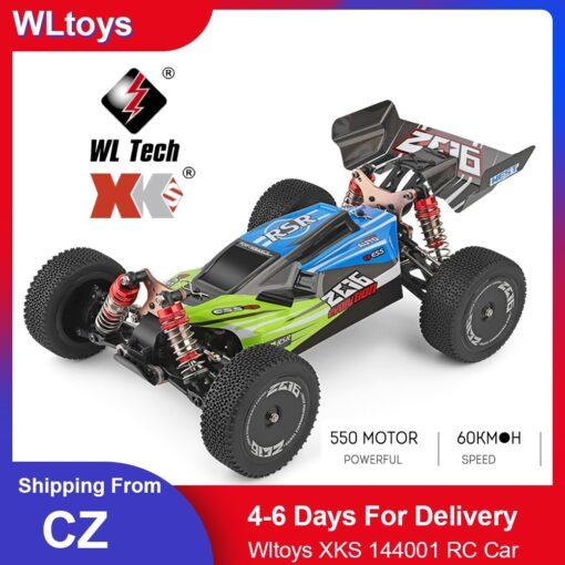 Wltoys XKS 144001 RC Car 60km h High Speed 1 14 2 4GHz RC Buggy 4WD 6