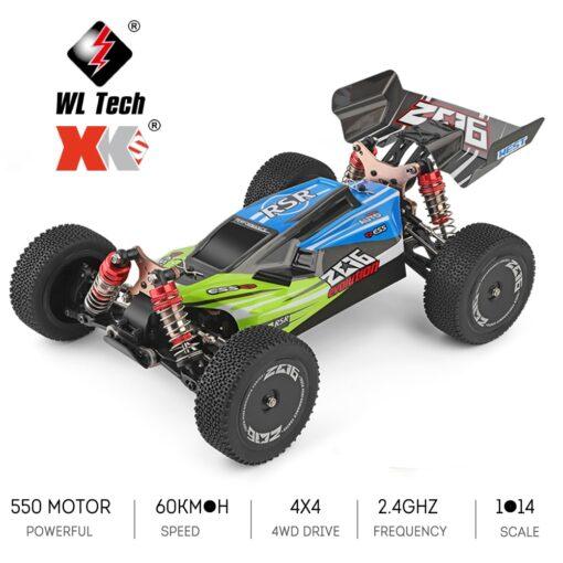 Wltoys XKS 144001 RC Car 60km h High Speed 1 14 2 4GHz RC Buggy 4WD 7