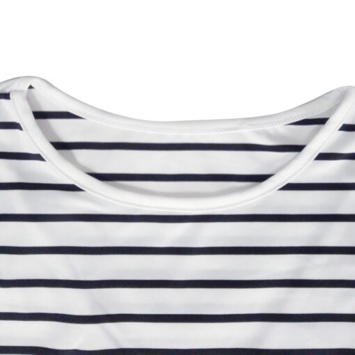 Women Mom Pregnant Casual Striped Long Sleeve Tops Breastfeeding Tops Ladies T Shirt Loose Pregnancy Loose 3
