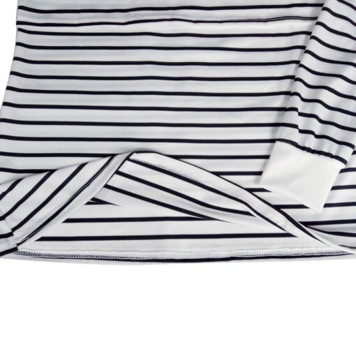 Women Mom Pregnant Casual Striped Long Sleeve Tops Breastfeeding Tops Ladies T Shirt Loose Pregnancy Loose 4