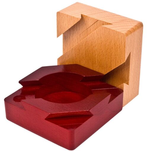 Wooden Puzzle Box with Secret Drawer Magic Compartment Brain Teaser Wooden Toys Puzzles Boxes Kids Wood 1