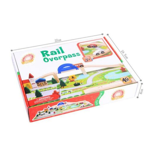 Wooden Toy Small Train Track Car Puzzles Play House Children s Educational Early Childhood Education Toy 5