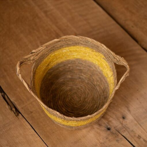 Yellow Children s Studio Woven Basket Newborn Photography Props Basket Baby Photo Weaving Frame Infant Basket 2