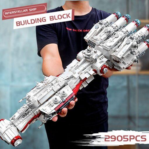 Yeshin 21004 Star Toys Wars Building Blocks UCS Dreadnought Star Destroyer Assembly s Model Kits Kids 1