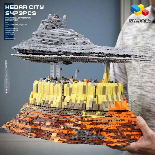 Yeshin 21004 Star Toys Wars Building Blocks UCS Dreadnought Star Destroyer Assembly s Model Kits Kids 3