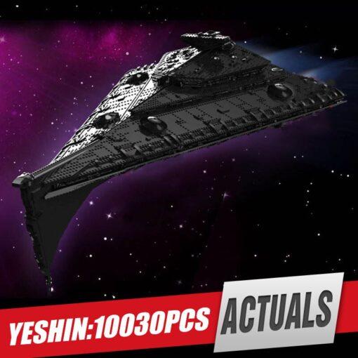 Yeshin 21004 Star Toys Wars Building Blocks UCS Dreadnought Star Destroyer Assembly s Model Kits Kids