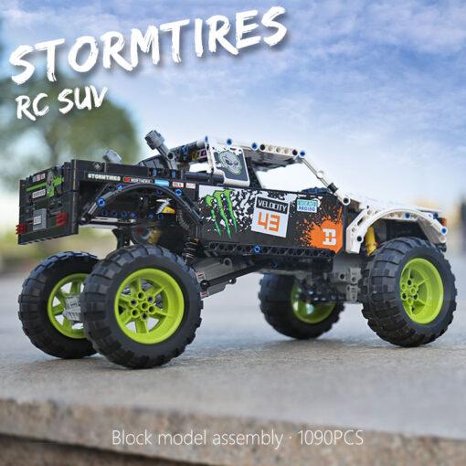 Yeshin Technic 4X4 Off Road Vehile model Toys Building Block Blocks SET classic car Compatible 42099 3