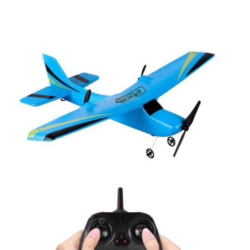 Z50 2 4G 2CH Gyro RTF Remote Control Glider 350mm Wingspan EPP Micro Indoor RC Airplane