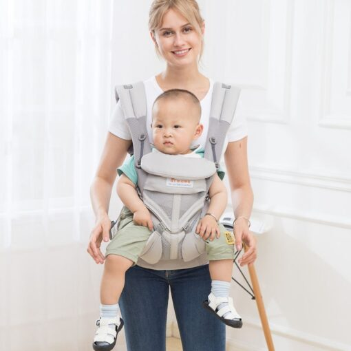 aimama 0 36 months 360 Ergonomic cold air Cotton Adjustable baby carrier Baby Sling Wrap strap 1