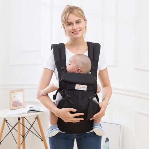 aimama 0 36 months 360 Ergonomic cold air Cotton Adjustable baby carrier Baby Sling Wrap strap 3
