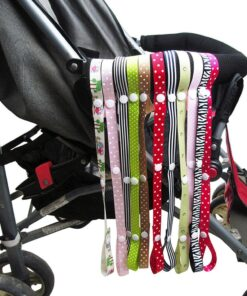 baby accessories Stroller Strap Baby Anti Drop Hanger Belt Holder Toys Fixed Car Pacifier Chain stroller 2