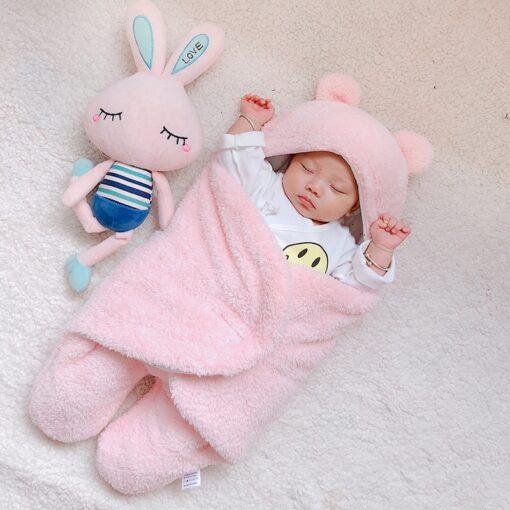 baby blanket swaddle cotton soft newborn baby swaddle me wrap sleepping bag decke cobertor infantil bebek 1