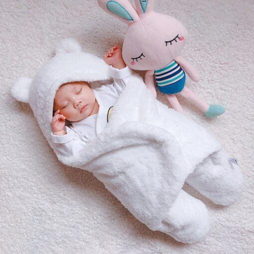baby blanket swaddle cotton soft newborn baby swaddle me wrap sleepping bag decke cobertor infantil bebek 2
