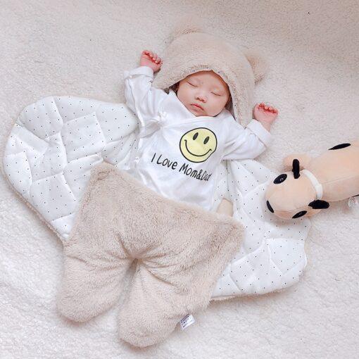 baby blanket swaddle cotton soft newborn baby swaddle me wrap sleepping bag decke cobertor infantil bebek 3