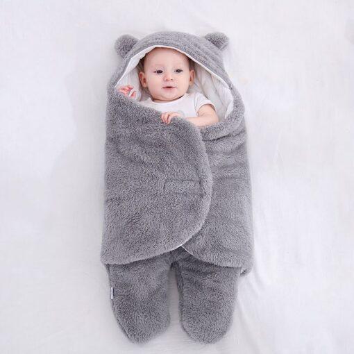 baby blanket swaddle cotton soft newborn baby swaddle me wrap sleepping bag decke cobertor infantil bebek 5